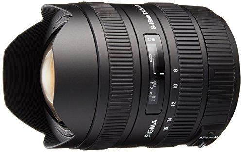 Sigma 8-16mm f/4.5-5.6 DC HSM FLD AF Ultra Wide Zoom Lens for APS-C sized Sony Digital DSLR Camera