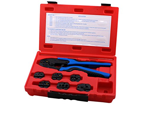 - Sherman S&G Tool Aid 18960 Quick Change Ratcheting Terminal Crimping Kit