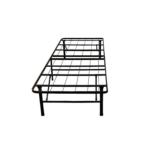 Classic Brands Hercules Heavy-Duty 14-Inch Platform Metal Bed Frame | Mattress Foundation, Twin