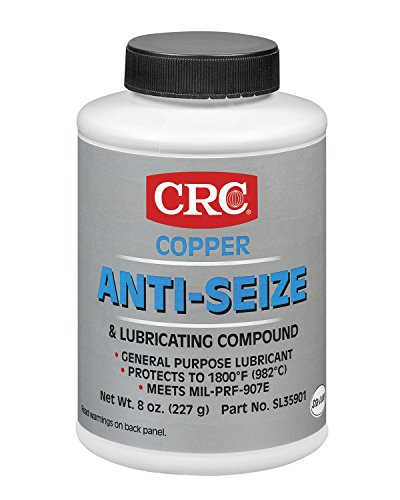 CRC SL35901 Copper Anti-Seize Lubricating Compound, 8 Wt Oz by CRC