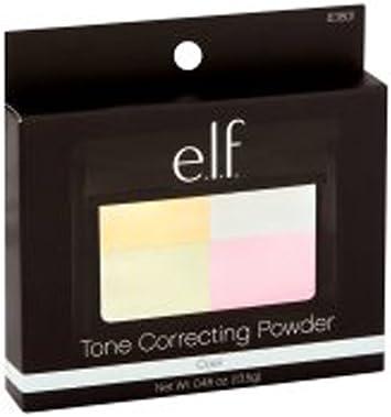 elf tone correcting powder