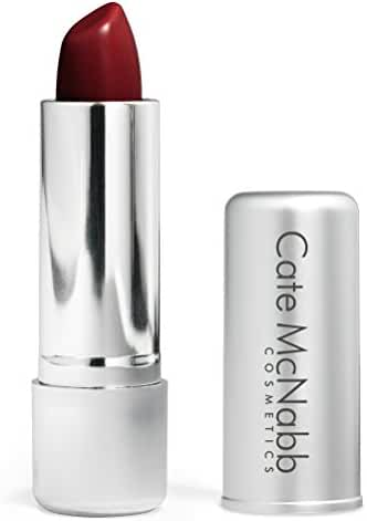 Cate McNabb Cosmetics Natural Long Lasting Lipstick, Red Red Wine, 0.16 Ounce