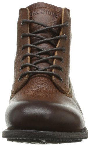 Blackstone MID LACE UP BOOT - Botas Chukka de cuero hombre marrón - Braun (old yellow)