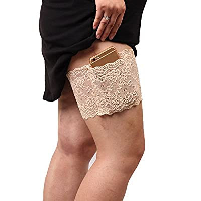 ALBIZIA Women's convenience Garter Wallet With Girly Phone Lace Pockets