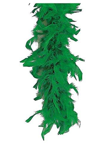 Fun Costumes Green 80 Gram Flapper Feather Boa Accessory Standard