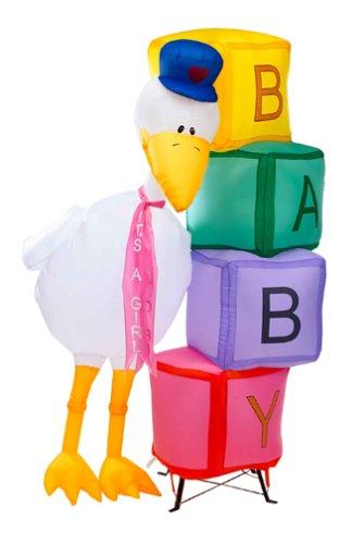 【高価値】 Inflatable Baby Stork Baby B0001CU0AC – 6 Feet Stork Tall B0001CU0AC, トータルフットウエア FOOT PLACE:9cd8d729 --- a0267596.xsph.ru