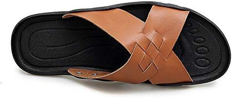 AIYASHIWEI-SHOES mode comfortabele pantoffels voor mannen, sandalen, slip, casual, stijl microvezel, eenvoudige kleur, pure kleur, flexibel en ademend