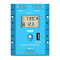 ZEALLIFE Solar Panels Charge Controller,...