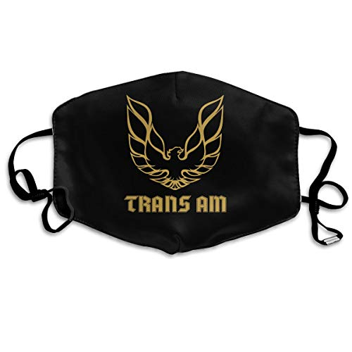 Rolvsx Trans Am Firebird Logo Unisex Mouth-Muffle Original Mask Dust-Proof Anti-Haze Earloop Face Mask -