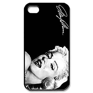 SUUER Marilyn Monroe Custom Hard Case for iPhone 4 4s Durable Case Cover