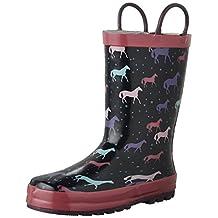 Western Chief Kids Cute Horses Waterproof Rain Boot