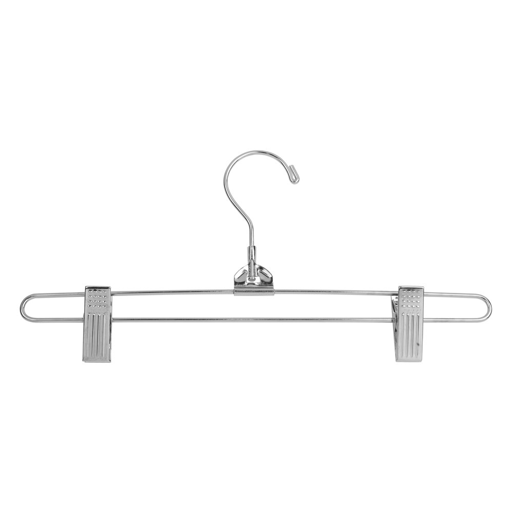 Econoco Commercial Skirt Hanger with Regular Hook, Steel, 12'' (Pack of 100) by Econoco