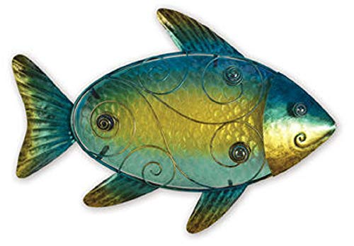 - Sunset Vista 8 inches Fish Wall Decor