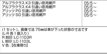 LIXIL部品 新日軽ブランド部品 引違い窓:下戸車(L・R各1個入)[E8LC1103] ステンカラー[E8LC1103]