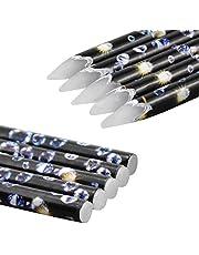 5 Stks Rhinestone Picker voor Nail Gems, Zachte Wax Potlood Wax Pen voor Diamanten voor nagels, Nail Potlood Dotting Pen Diamond Schilderen Pen Tool Accessoires