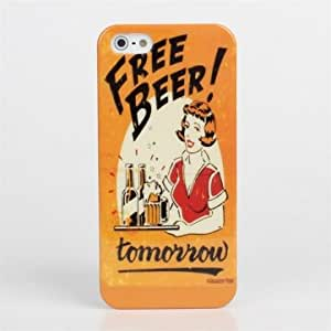 Free Bear Tomorrow Theme Pattern Thin Plastic Case For iPhone 5