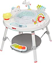 Skip Hop Baby Activity Center: Interactive Play Center with 3-Stage Grow-with-Me Functionality, 4mo+, Silver L
