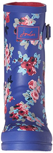 Jnr Joules Rain Welly Kid Toddler Boot Little Girls Navy Kid Floral Big UgHBwqgx