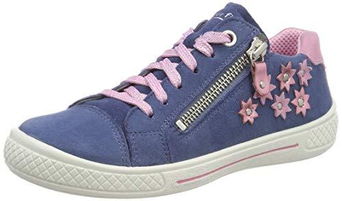 908f910a2f4073 Mädchen Blau Superfit 80 Sneaker Tensy blau rosa FqCHpwTxC