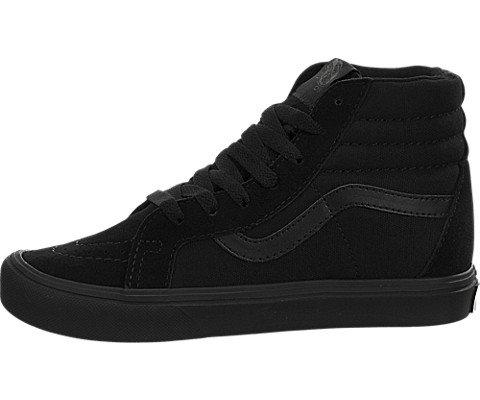 Vans Kids Sk8-Hi Reissue Lite Skate Shoe Black/Black 10.5 M US Little Kid (Sk8 Hi Vans)