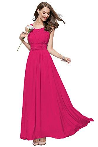 fuchsia halter dress - 8