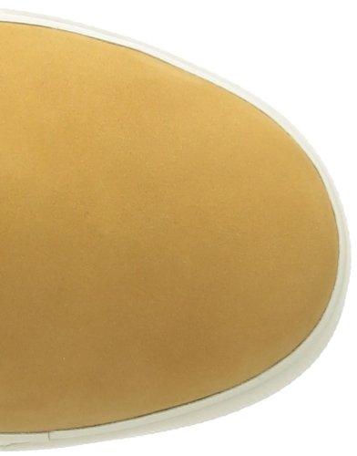 Timberland Ek Deering - Zapatillas de Deporte de cuero nobuck mujer Amarillo - Jaune (Wheat Nubuck)