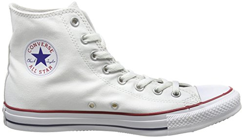 Sneaker Unisex Hi White Optical Bianco Star Adulto Converse Canvas taAqwF7xg