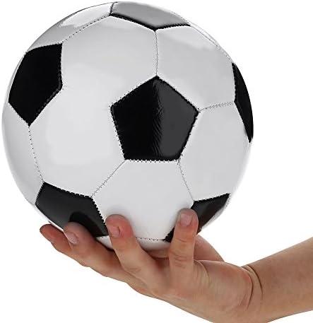 VGEBY1 Entrenando la Pelota de fútbol, tamaño 4 clásico Negro ...