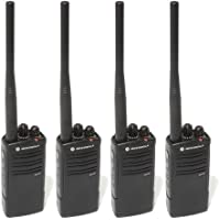 Motorola RDV5100 5-Watt, On-Site, Professional Two Way Radio (4-Pack)