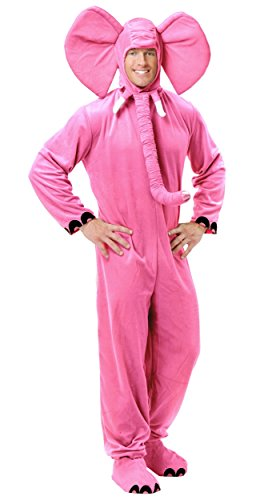 Fantastic Four Costumes For Adults (Adult X-Small 34-36 Pink Elephant Costume)