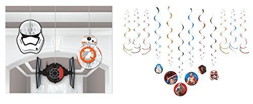 Star Wars Party Decorating Pack (15 Pieces) by Party Supplies -