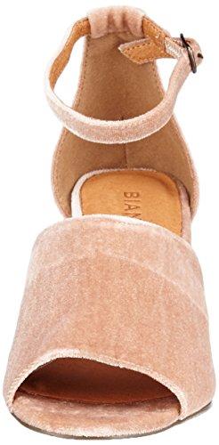 Party SAMT para con rosa el correa color de para Sandalias tobillo 46 mujeres rosa Bianco dtqYXEwn