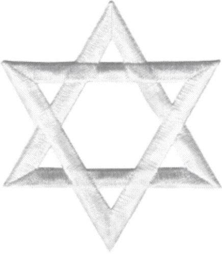 22120 Blanca Estrella de David Judaísmo Judaísmo Símbolo ...