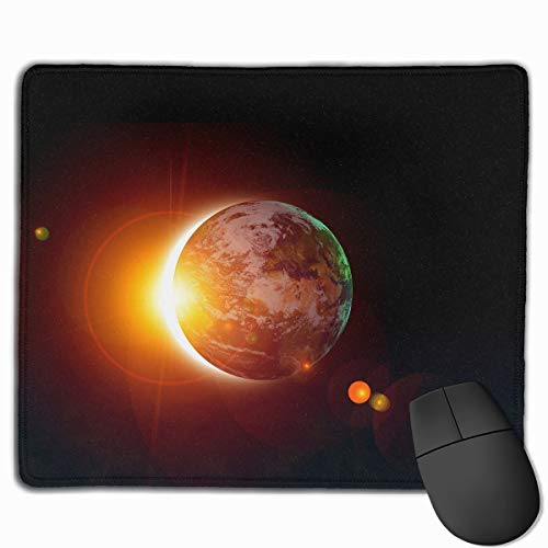 Smooth Mouse Pad Solar Eclipse Sun Mobile Gaming Mousepad Work Mouse Pad Office Pad]()