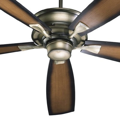 42705-22 Alton 5-Blade Ceiling Fan with Reversible Blades, 70-Inch, Antique Flemish Finish by Quorum International