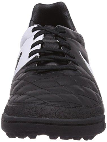 Mens Nike Tiempo Legacy Soccer Turf Schoenen (zwart / Wit) Zwart Wit Zwart 010