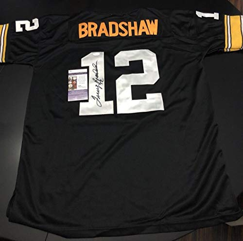 95c8d45a35f Terry Bradshaw Pittsburgh Steelers Authentic Jerseys. Terry Bradshaw  Autographed ...