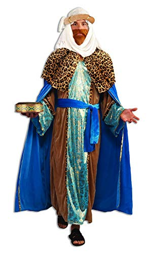 Forum Novelties Sapphire Nativity Wiseman Costume, Blue, One -