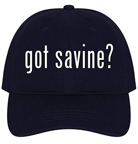 The Town Butler got Savine? - A Nice Comfortable Adjustable Dad Hat Cap, Navy