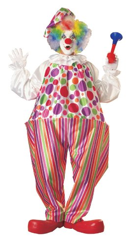 Cute Clown Halloween Costumes (Rubie's Snazzy Clown, Multicolored, One Size)