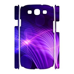 3D Okaycosama Funny Samsung Galaxy S3 Case Colorful 171 Protective for Girls, Case for Samsung Galaxy S3, [White]