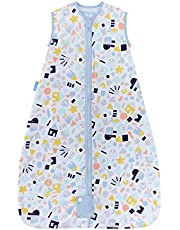 The Gro Company Happy Folks 1.0 Tog Travel Grobag for 18-36 Month Babies,
