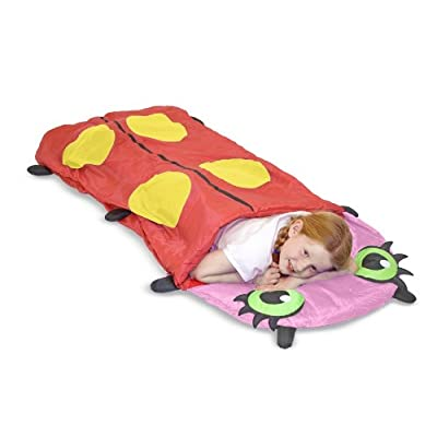 Melissa & Doug Sunny Patch Mollie Ladybug Sleeping Bag With Matching Storage Bag: Melissa & Doug: Toys & Games