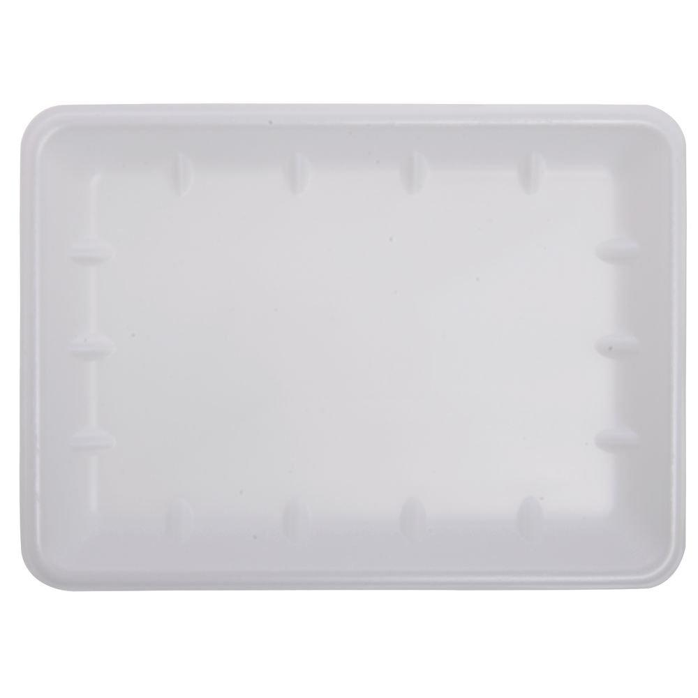 "Cheap Foam Meat Trays White - 14"" x 10"" x 1"" 100 Per Case for sale"