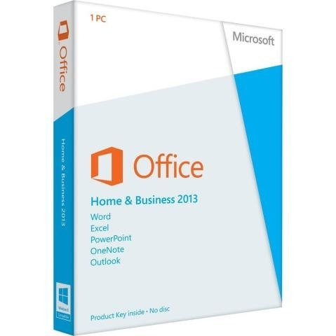 Office Home & Business 2013 Key Card 1PC/1User (Microsoft 365 Key)