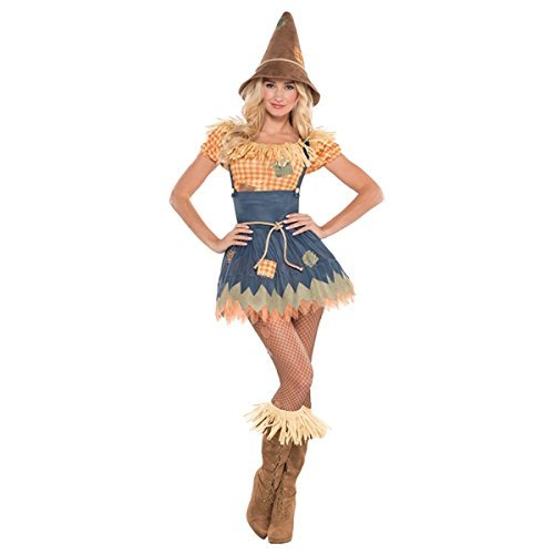 amscan Adult Sultry Scarecrow Costume - X- Large (14-16)]()