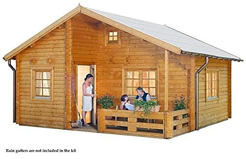 Allwood Ranger Kit Cabin 259 Sqf 168 Sqf Lofthe Shed