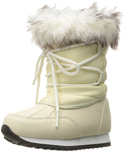 Polo Ralph Lauren Kids Girls' 993542 Snow Boot, Cream, 10 M US Toddler
