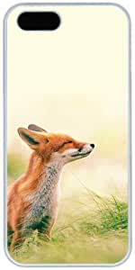 Fox Feeling Summer Apple iPhone 5 5S Case, iPhone 5 5S Cases Hard Shell Cover Skin Cases