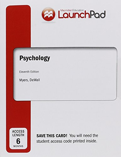 LaunchPad for Psychology (Six Month - City Myer